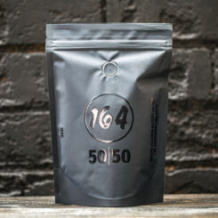 Our house blend is 50% Brazil and 50% El Salvador.