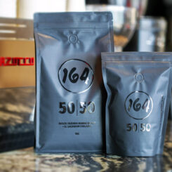 50|50 Coffee available 1kg and 250g
